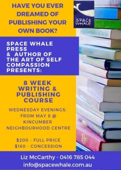 8 Week Writing & Self Publishing Course