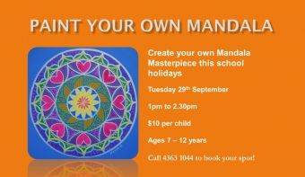 Paint Your Own Mandala